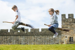 Broomstick training at Alnwick Castle 018