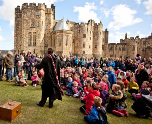 Harry Potter characters at Alnwick Castle (2)